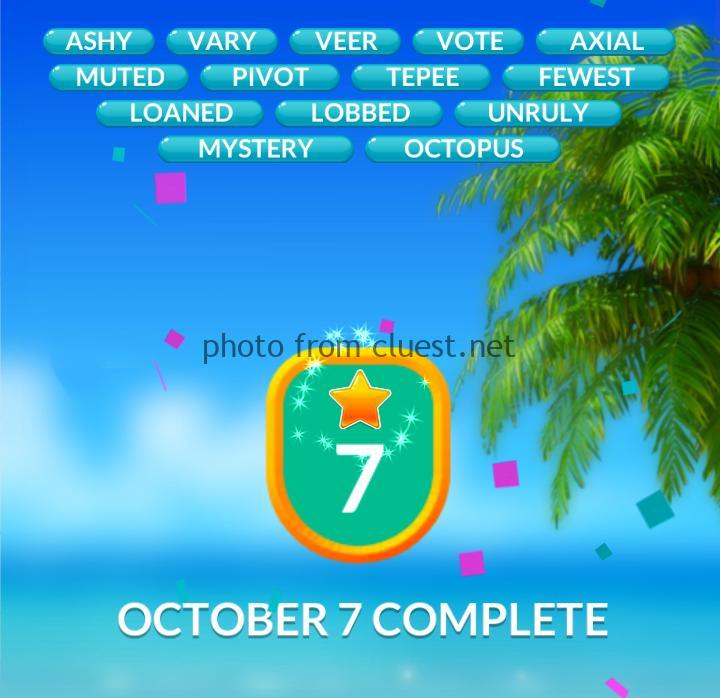 Word Stacks Daily Challenge October 7 2019 Answers Cluest
