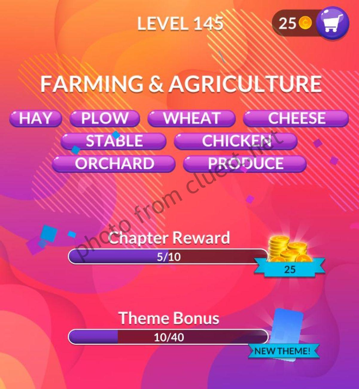 Word Stacks Level 145 Answers And Cheats Cluest