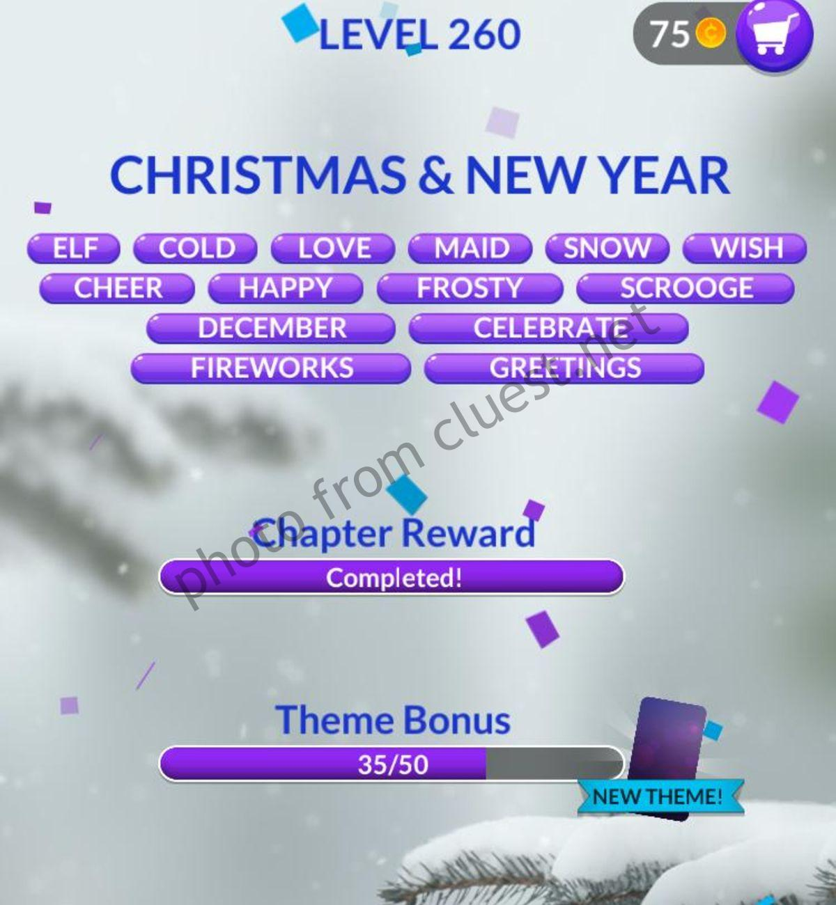 Download Christmas And New Year Word Stacks