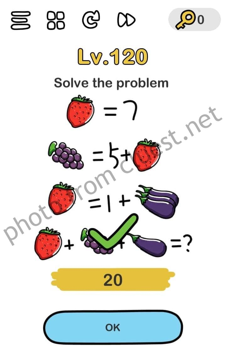 Brain Out Level 120 Solve The Problem Answers And Solutions Cluest