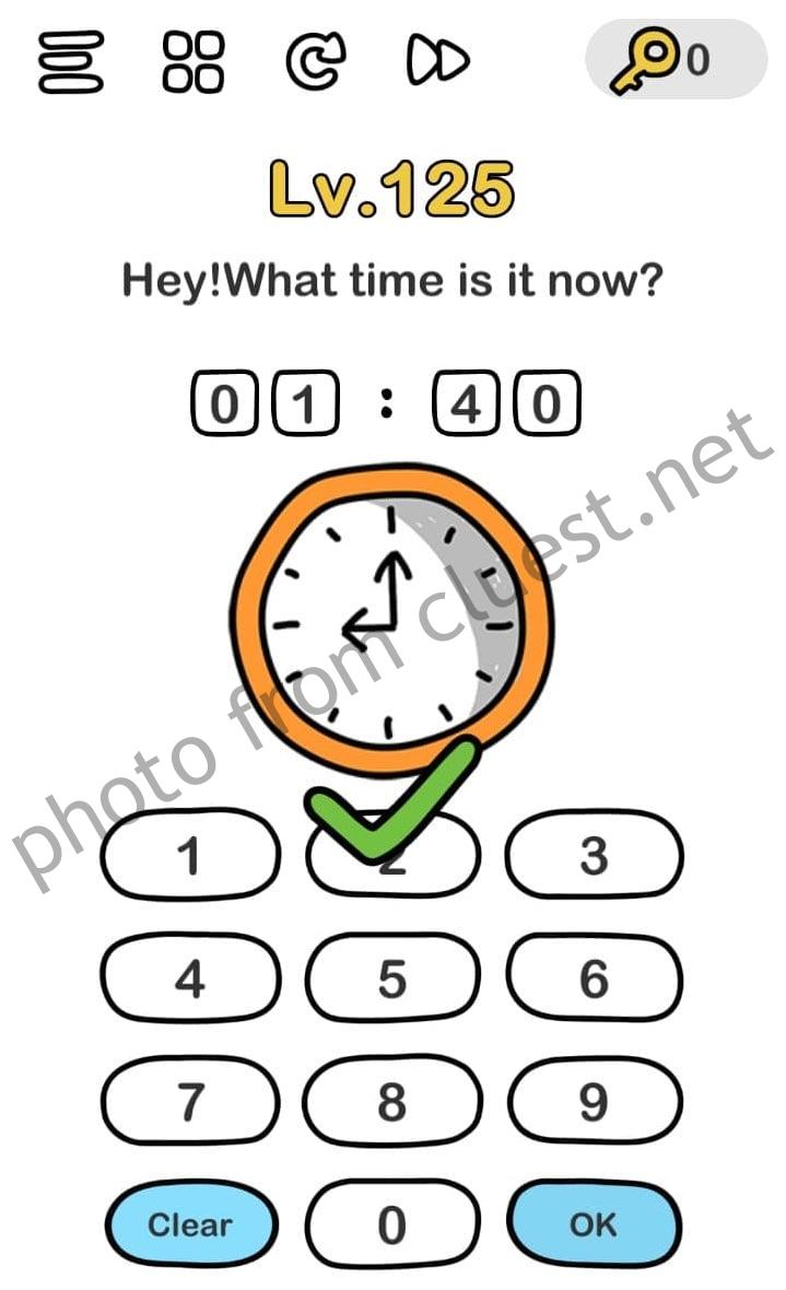 Hey What Time Is It Now Brain Out Cluest