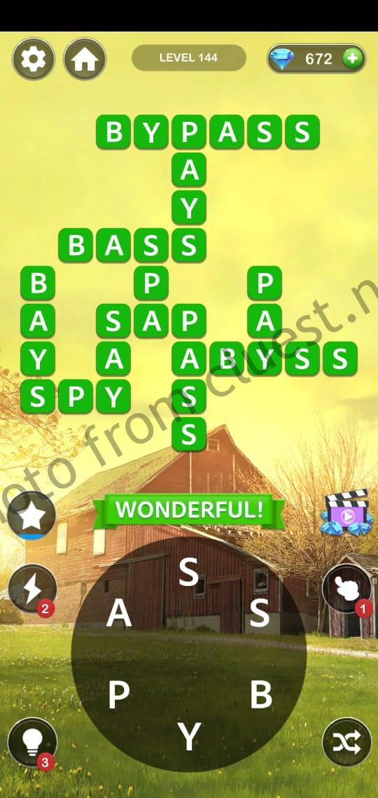 Home Memory Level 144 Answers Cluest