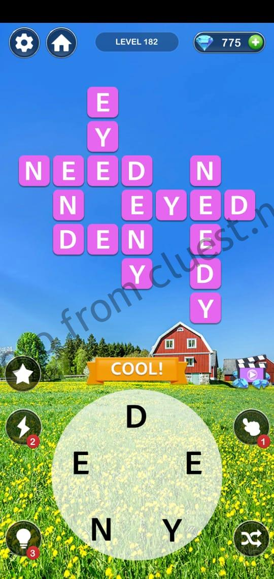 Home Memory Level 182 Answers Cluest