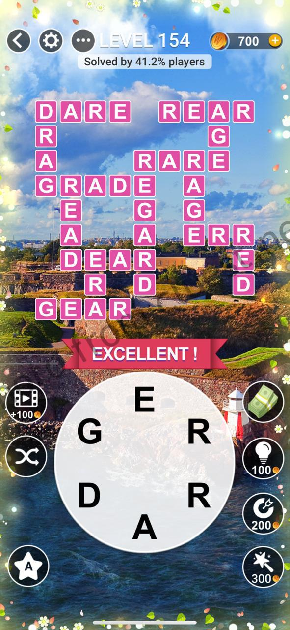 Word Relax Level 154 Answers Cluest