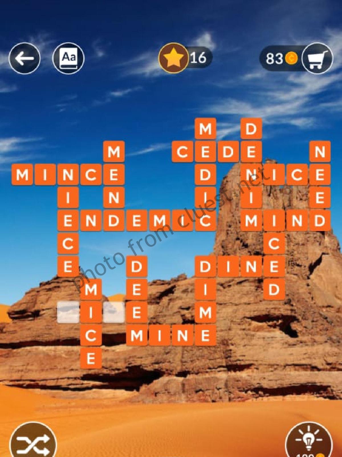 Get Wordscapes 750 Background