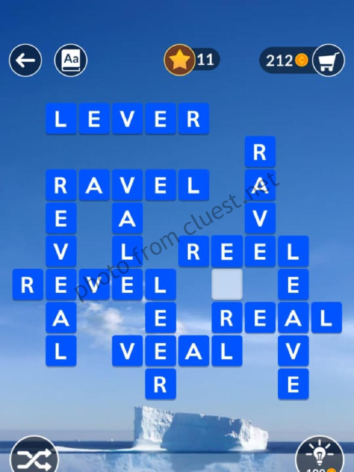 Wordscapes Level 872 Depth 8 Answers Cluest