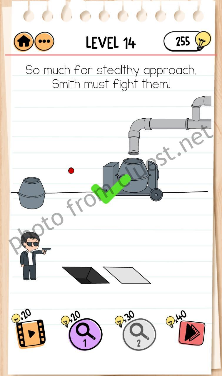 Smith And Joe Part 2 Level 14 So Much For Stealthy Approach Smith Must Fight Them Answers And Solutions Cluest